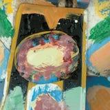 Fundo da pintura da textura Fotos de Stock
