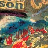 Fundo da pintura da textura Imagem de Stock