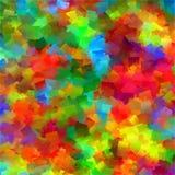 Fundo da pintura da textura da cor do arco-íris da arte Imagem de Stock
