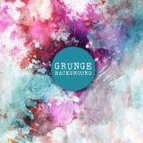 Fundo da pintura de Grunge ilustração royalty free