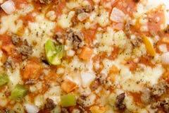 Fundo da pizza Imagem de Stock Royalty Free