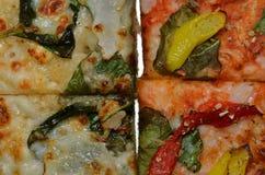 Fundo da pizza Fotos de Stock Royalty Free