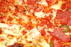 Fundo da pizza Foto de Stock Royalty Free