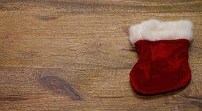 Fundo da placa da sapata de Santa Fotografia de Stock