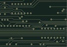 Fundo da placa de circuito Imagens de Stock