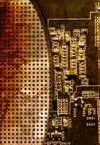 Fundo da placa de circuito do computador Imagem de Stock