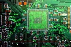 Fundo da placa de circuito impresso Imagens de Stock