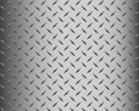 Fundo da placa do diamante do metal Imagens de Stock