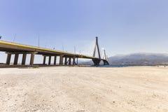 Fundo da ponte de suspensão fotografia de stock royalty free