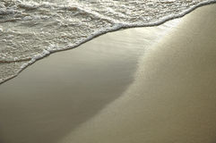 Fundo da praia Imagens de Stock Royalty Free