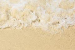 Fundo da praia da areia Imagens de Stock
