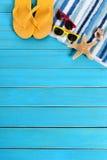Fundo da praia do verão Imagem de Stock