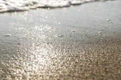Fundo da praia sand Fotos de Stock