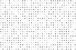 Fundo da reticulação de Grunge Inclinação de Digitas O teste padrão pontilhado com círculos, pontos, aponta a escala pequena e gr ilustração royalty free