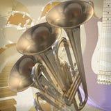 Fundo da rocha do jazz Imagem de Stock Royalty Free