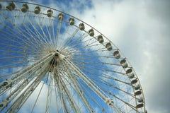 Fundo da roda de Ferris Imagens de Stock