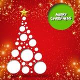 Fundo da ?rvore de Natal Imagens de Stock Royalty Free
