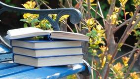 Fundo da ?rvore do vento do banco do livro ningu?m vídeos de arquivo