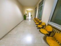 Fundo da sala de espera do hospital imagem de stock royalty free
