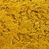 Fundo da superfície de metal dourada riscada Foto de Stock Royalty Free