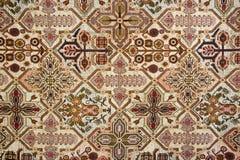 Fundo da tapeçaria de Brown do ouro Fotografia de Stock