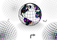 Fundo da tecnologia Foto de Stock Royalty Free