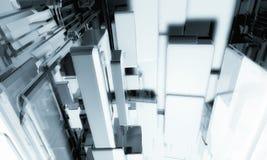 fundo da tecnologia 3D Fotos de Stock Royalty Free