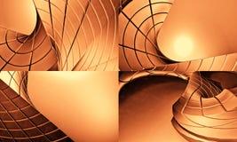 fundo da tecnologia 3D Fotografia de Stock