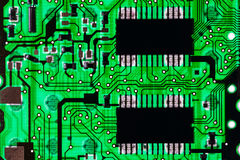 Fundo da tecnologia da placa de circuito foto de stock