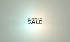 Fundo da tecnologia da venda de Black Friday Compra em linha do feriado Imagem de Stock