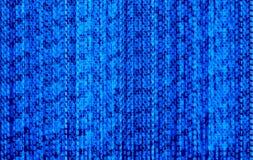 Fundo da tecnologia de Abstarct do código binário do vetor, córregos dos dígitos dos datos matriciais ilustração stock
