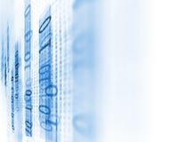 Fundo da tecnologia do sumário do número de código de Digitas Imagem de Stock