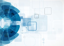 Fundo da tecnologia, ideia da solução do negócio global Imagens de Stock Royalty Free