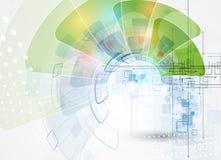 Fundo da tecnologia, ideia da solução do negócio global Imagens de Stock