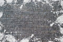 Fundo da tela de Splodgy Fotografia de Stock