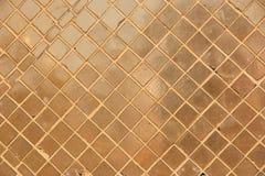 Fundo da telha do ouro Fotos de Stock Royalty Free