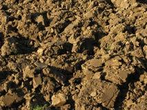 Fundo da terra arável Fotografia de Stock