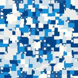 Fundo da textura abstrata com quadrados ilustração stock