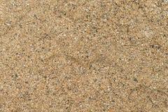 Fundo da textura da areia Fotos de Stock Royalty Free