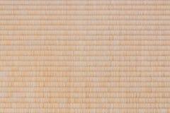 Fundo da textura da esteira de Tatami Foto de Stock