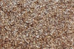 Fundo da textura da microplaqueta de madeira Imagem de Stock