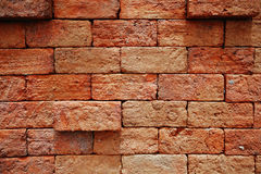 Fundo da textura da parede de tijolo Imagens de Stock