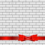 Fundo da textura da parede de tijolo com curva e Imagens de Stock