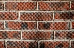 Fundo da textura da parede de tijolo vermelho Imagens de Stock Royalty Free
