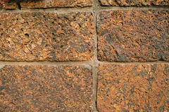 Fundo da textura da pedra de Brown Fotos de Stock