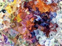 Fundo da textura da pintura de Digitas ilustração stock
