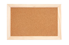 Fundo da textura da placa da cortiça Foto de Stock