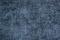 Fundo da textura da sarja de Nimes Fotografia de Stock