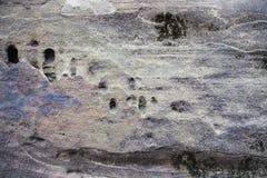 Fundo da textura da superfície do monte da rocha Imagens de Stock Royalty Free