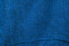 Fundo da textura da tela das calças de brim Imagens de Stock Royalty Free